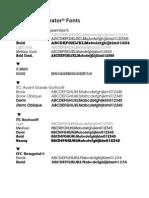 Font Directory Adobe Illustrator