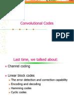 Channel Coding - Convolutional Codes