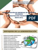 Enfoques Administrativos en Las Empresas de Economia Solidaria
