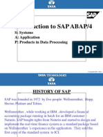 Sap Abap Overview