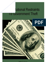 Constitutional Restrains to Government Theft