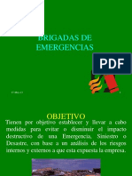 Capacitacion de Brigadas de Emergencias
