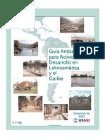 Cap_1 - Guia Ambiental Para Actividades de Desarrollo en Latinoamerica y El Caribe