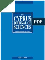 Cyprus Journal of Sciences 9