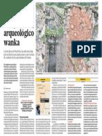 Centro Arqueologia Wanka en Peligro