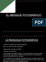 Mensaje Fotografico