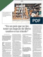 Negocio Libros Usados Peru