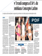 Negocio Moda Peru Crece