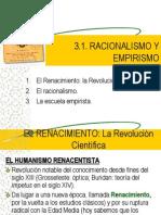 3.1. racionalismoyempirismo
