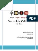 Control de Calidad Caso Xerox