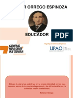 Antenor Orrego Espinoza - Educador