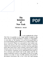 The Homeless of New York