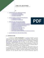TOMA  DE  DECISIONES (Andrés Folatre)