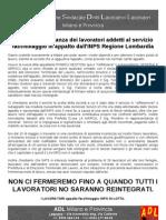 Volantino Del 16.05.2013 ADL Milano