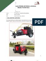 Sellador Junturas GE-TS350 20130509 Constructora Genesis 3556