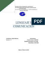 Informe de La Comunicacion