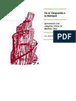 Alvarez Aksel, De la vanguardia a la Metrópoli, desmontaje metodológico