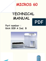 Horiba ABX Micros 60 - Technical Manual