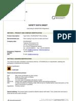 Msds- Filler Coating Type f(Ed) 6-04-2012