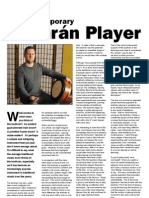 The Contemporary Bodhrán Player By Jacob McCauley
