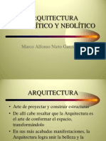 ARQUITECTURA PALEOLÍTICO Y NEOLÍTICO-1