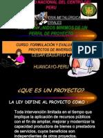 1 .Perfil de Un Proyecto de Inversion -Metalurgia