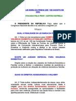 LEI MARIA DA PENHA COM DESTAQUES FEITOS PELO PROF. CAPITAO ESTRELA.doc