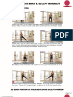 Ultimate Burn and Sculpt Workout