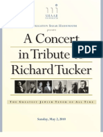A Concert in Tribute to Richard Tucker
