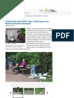 Müllaktion Alaunpark DNN
