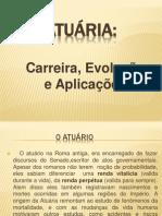 TRABALHO DE ATUÁRIA