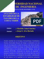 Analisis de La Estabilidad de Taludes Costa Verde(36pag)
