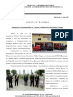 CP 17.05.2013 Inugurare Bolintin