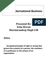Ethics in International Business