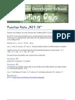 Function Kata ROT