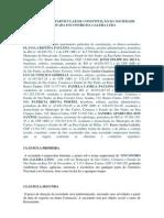 INSTRUMENTO PARTICULAR DE CONSTITUIÇÃO DA SOCIEDADE LIMITADA ENCONTRO DA GALERA LTDA