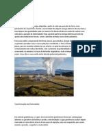 Energia Geotérmica e das mares