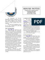 2013 House Notes - Week 6