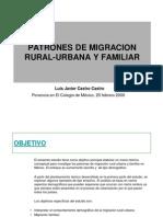 Análisis de migración familiar por edad (2000)