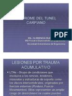 Sindrome Tunel de Carpio