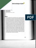 Anta Et Al 2007 Incidence of Stylistic Knowledge on Rhythm Perception - Copy