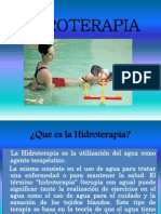HIDROTERAPIA PRESENTACION