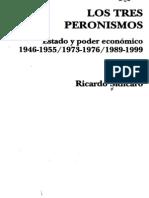 Sidicaro, R (2002) - LosTresPeronismos(Indice).pdf