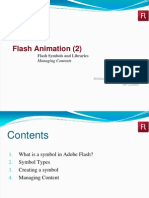 10-Flash Animation (Creating and Editing Symbols)