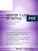 NEWTON´S LAWS OF MOTION.pptx