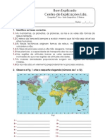 B.2 - Teste Diagnóstico - O Relevo (1)