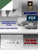 Battlebook Senior Leader Staff Ride the Battle of the Bulge