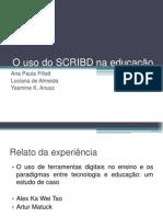 O uso do SCRIBD na educação