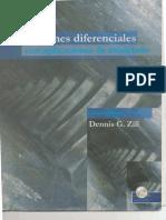 Ecuaciones Diferenciales Zill PDF