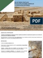 Uso de Fibras Vegetales en La Edificacion Sostenible